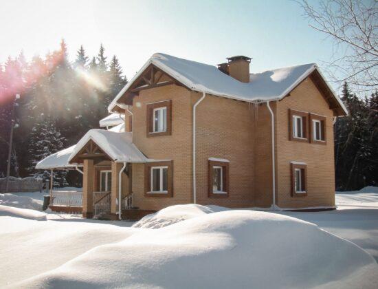 Коттедж зима